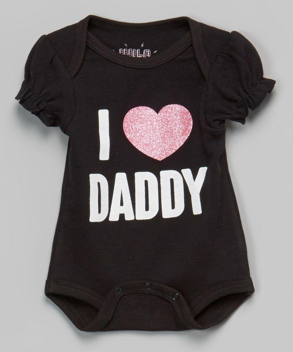 Look What I Found On Zulily Wild Child Black I Love Daddy Puff