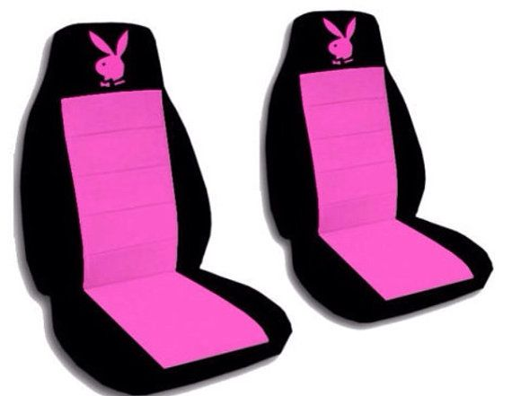 Car seat covers. 2 front seats with Play Boy Bunny. You choose the ...
