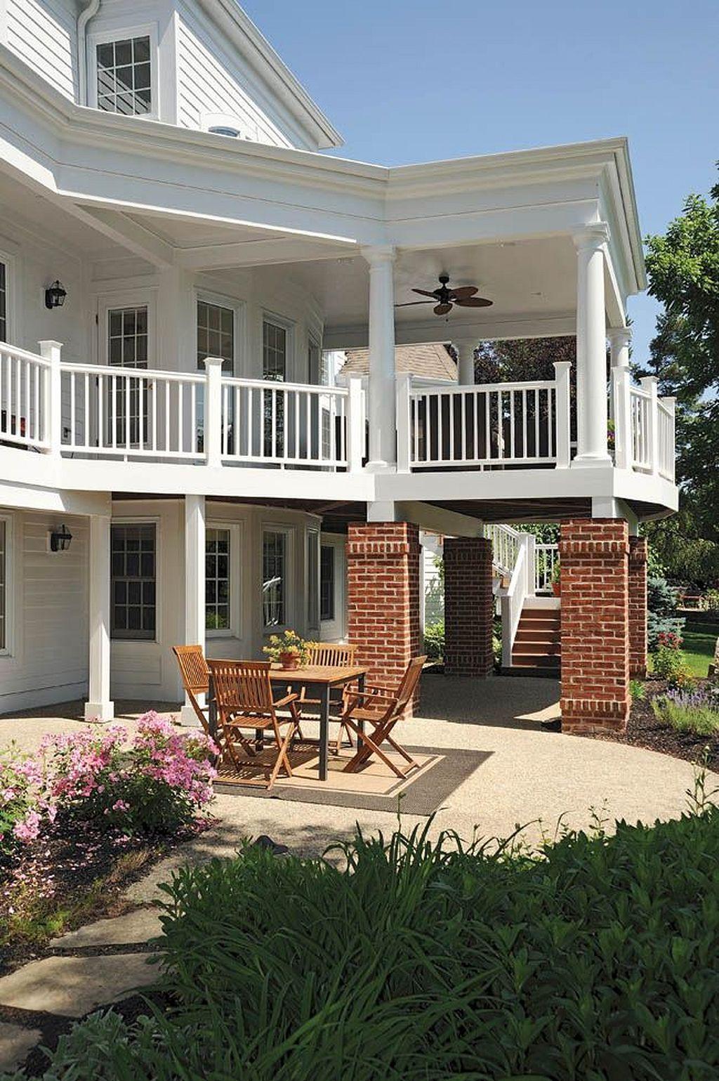 40 Second Floor Deck Ideas To Add