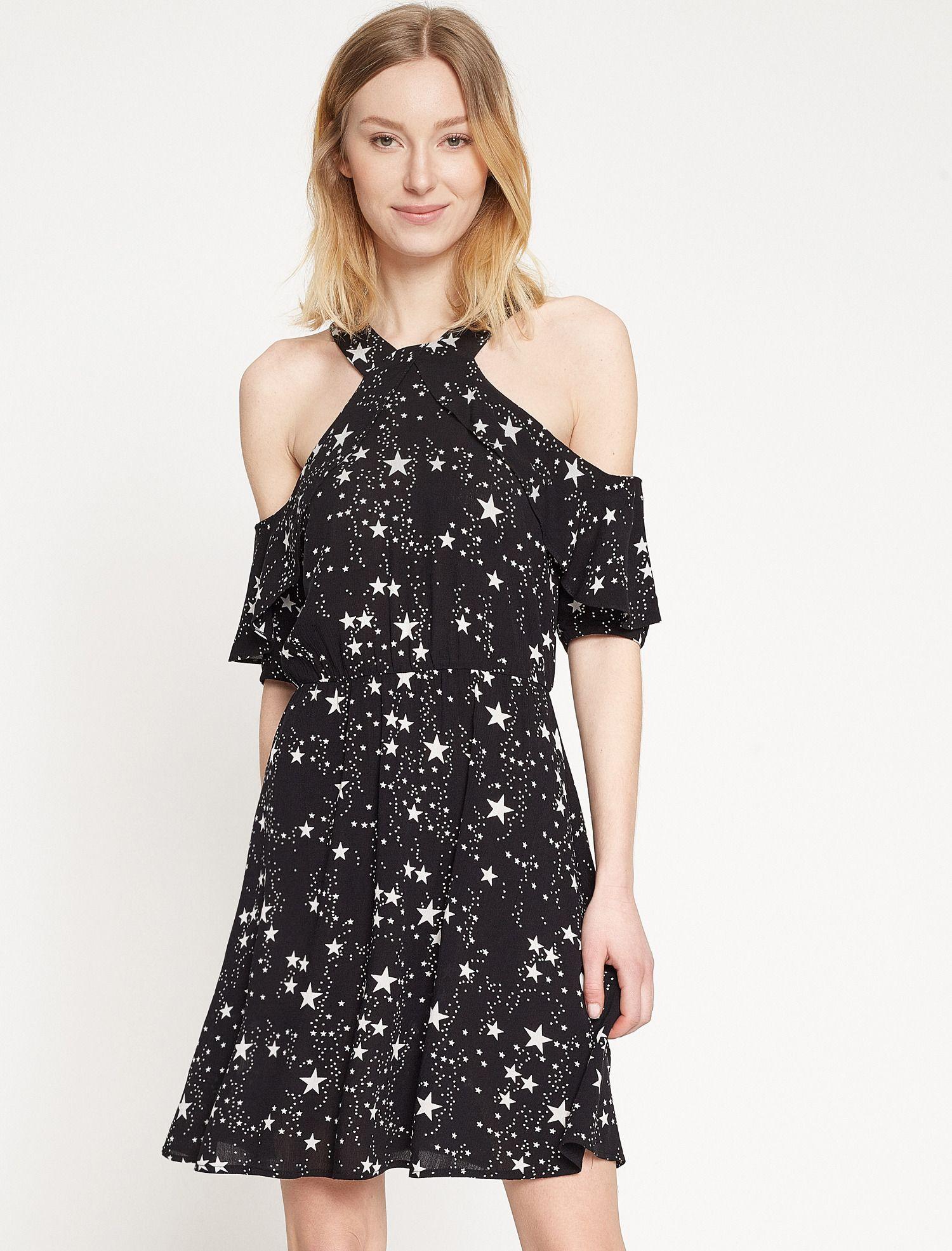 0e2182c9488d5 Koton - Koton Kadın Yıldız Desenli Elbise   Brand-Store KADIN ...