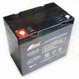 Fullriver Solar Battery Agm 55ah 12v Dc Agm Batteries Are Designed And Built For Deep Discharge And Recharge Solar Battery Solar Deep Cycle Battery