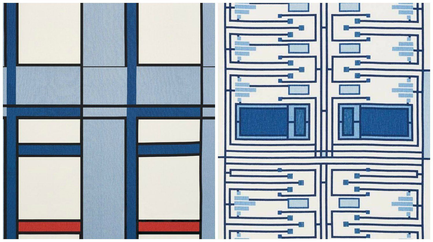 Fans Can Now Buy Frank Lloyd Wright-designed Fabric