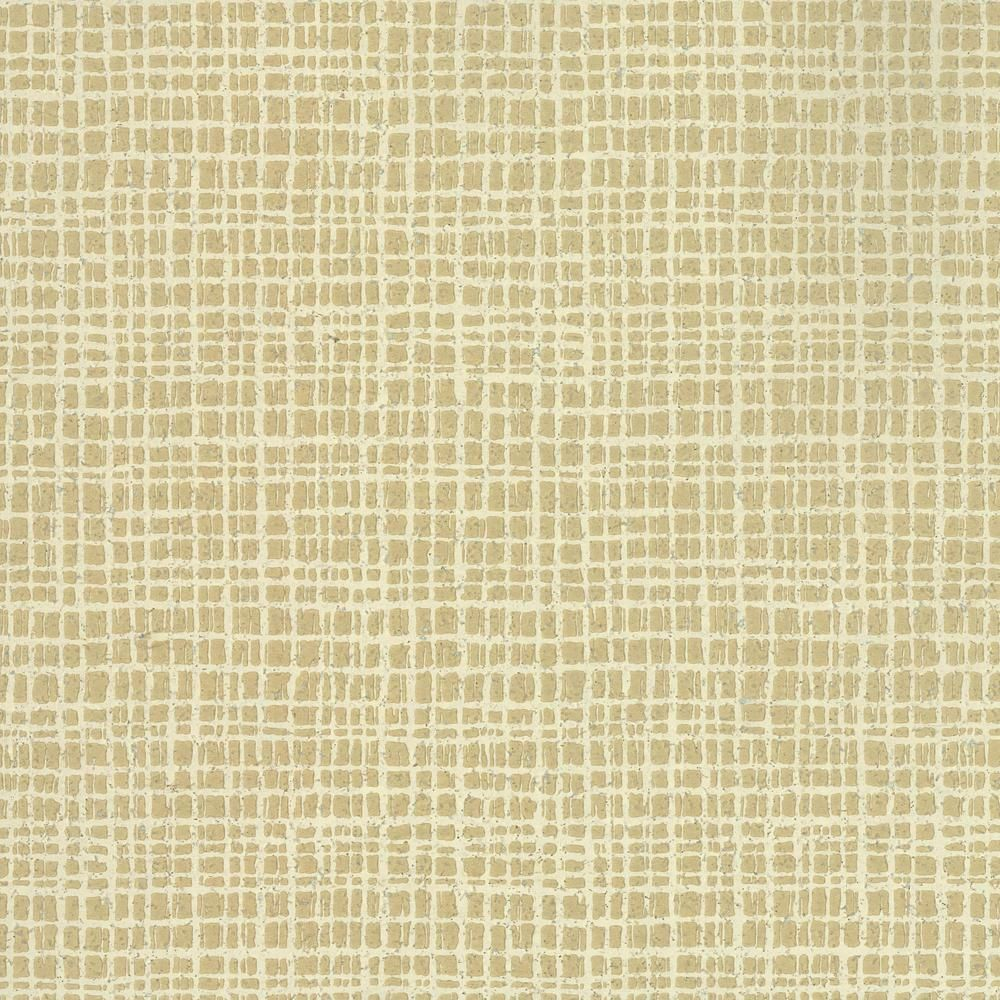 Ronald Redding Organic Cork Tarlatan Wallpaper, Beige | Cork ...