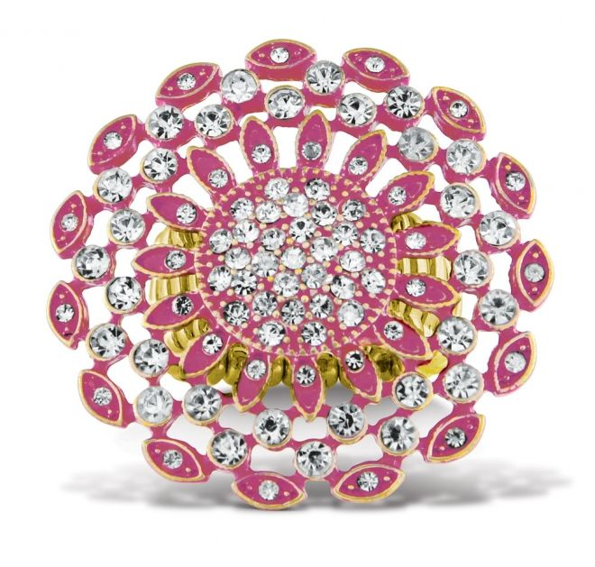 Floret Stretch Ring Pink   AZULI SKYE - The Ultimate Home ...