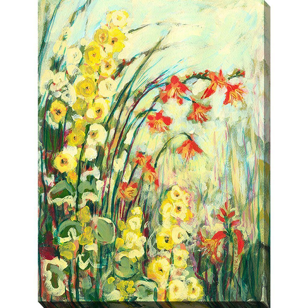Jennifer lommers umy secret gardenu giclee print canvas wall art by