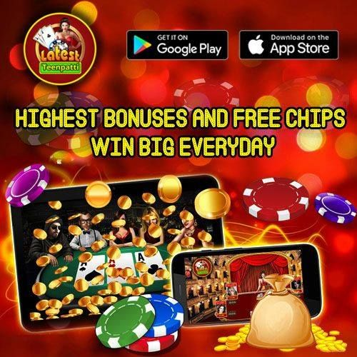 Hurray! Win highest #bonus and #chips everyday #teenpatti #game