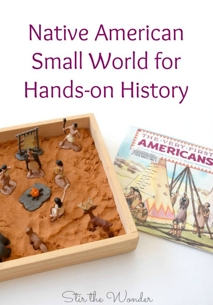 Native American Small World For Hands On History History