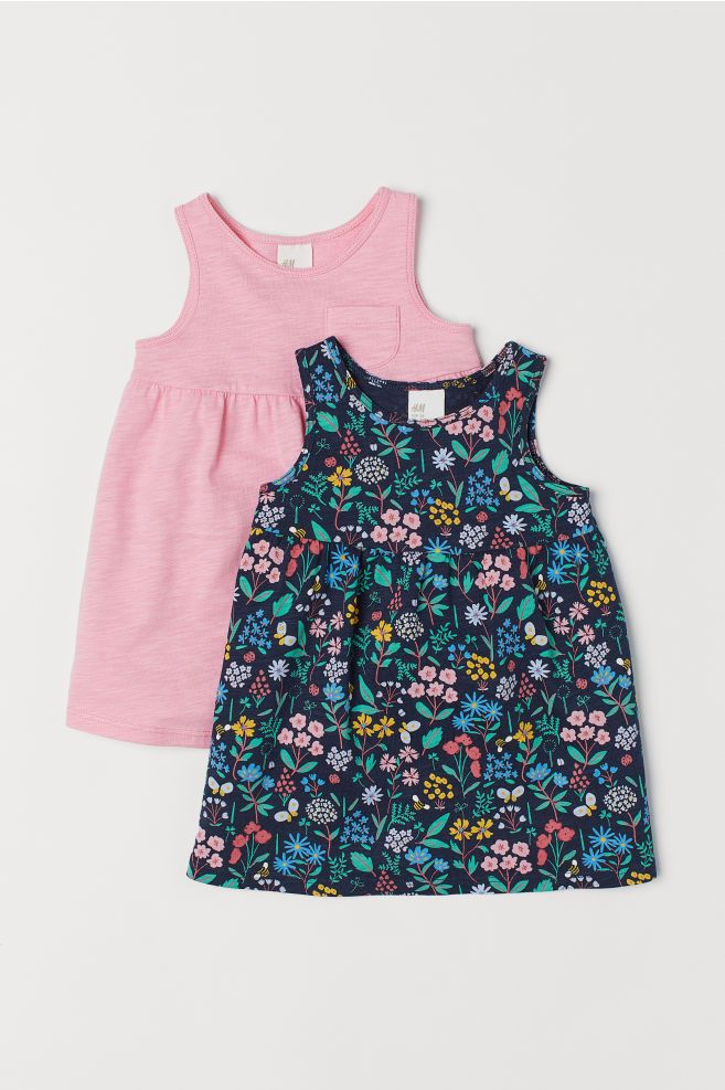 Pink Emily Rose Baby Girls Sleeveless Butterfly Dress with Bloomers