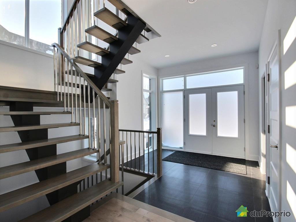 Maison Neuve à Vendre St Hubert 3870 Rue La Fredière Immobilier Québec Duproprio 585793 Home Home Decor Stairs