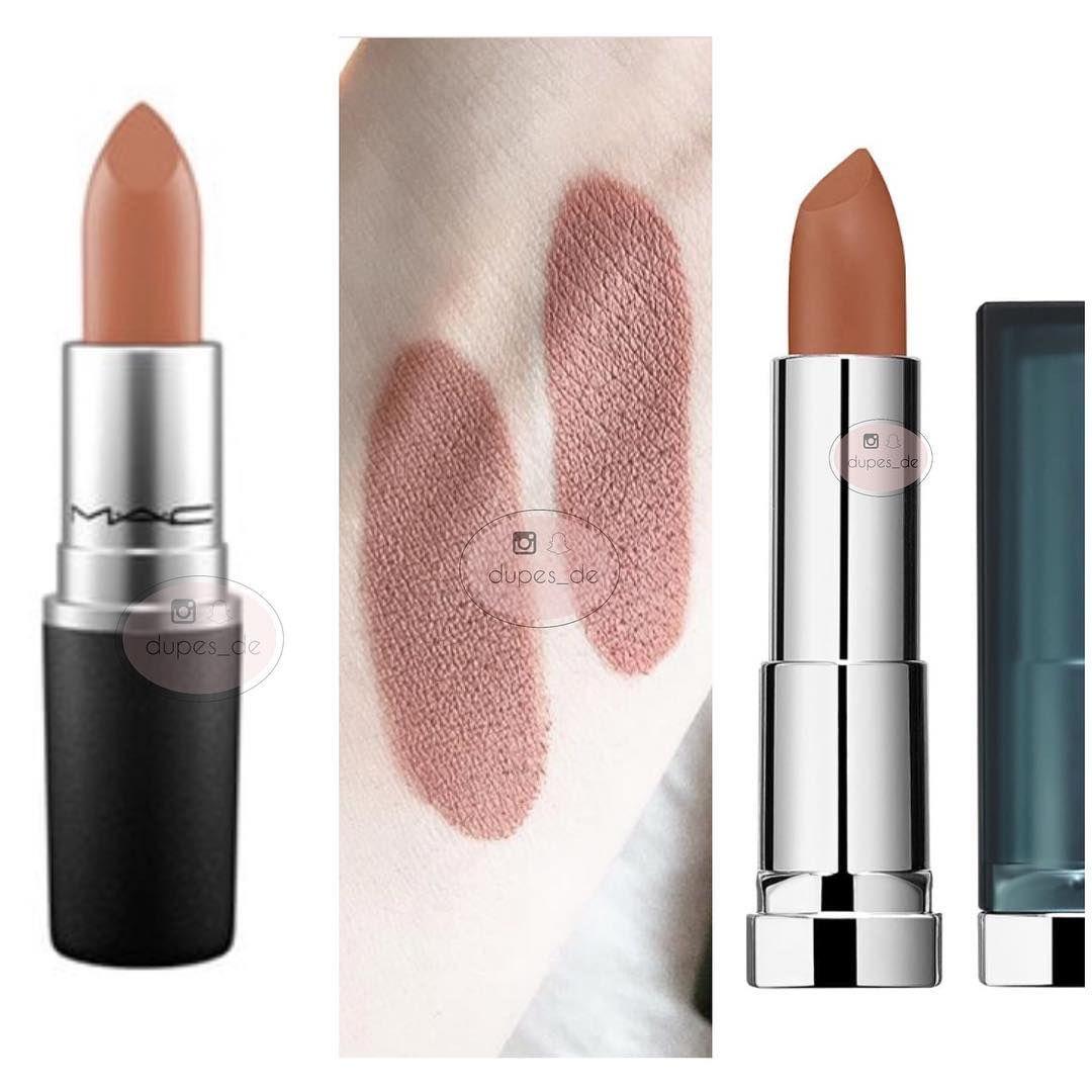 Bekend Mac - Yash ( 21,50€) und Maybelline Matte - Nude Embrance 930 (6  DM64