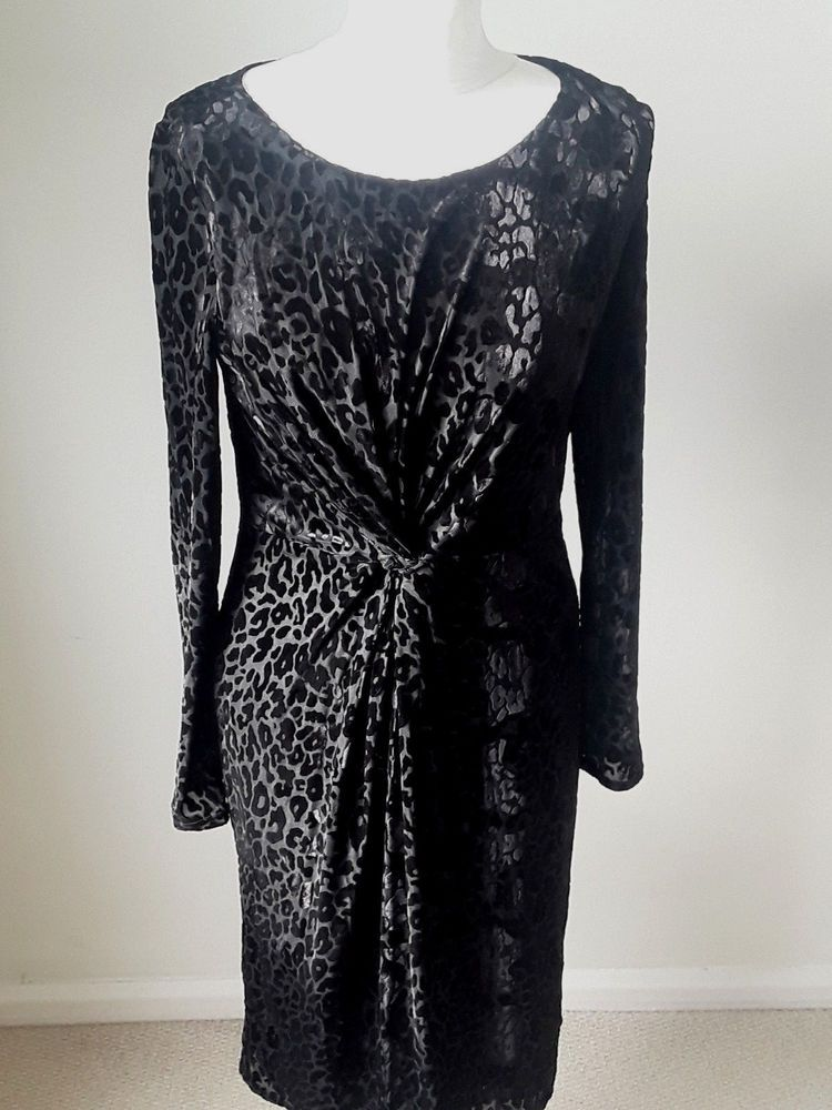 Black Devore Laura Ashley Dress Graff Dress Agency Pinterest
