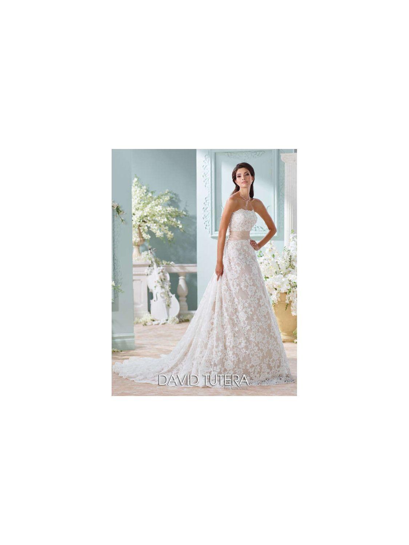 David tutera for mon cheri wedding dress style no