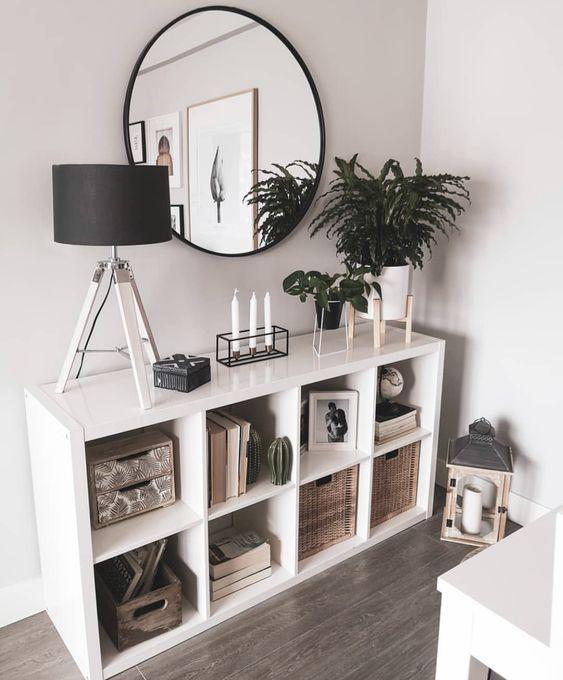 KALLAX Shelf unit - white - IKEA | Minimalist room, Home ...