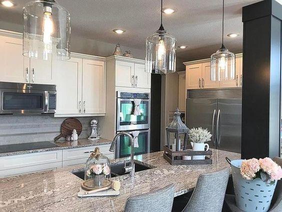 22 ideas of glass kitchen lighting interiorforlife