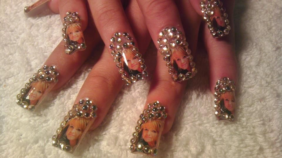 jenni rivera nails | nails | Pinterest | Divas y Estilo