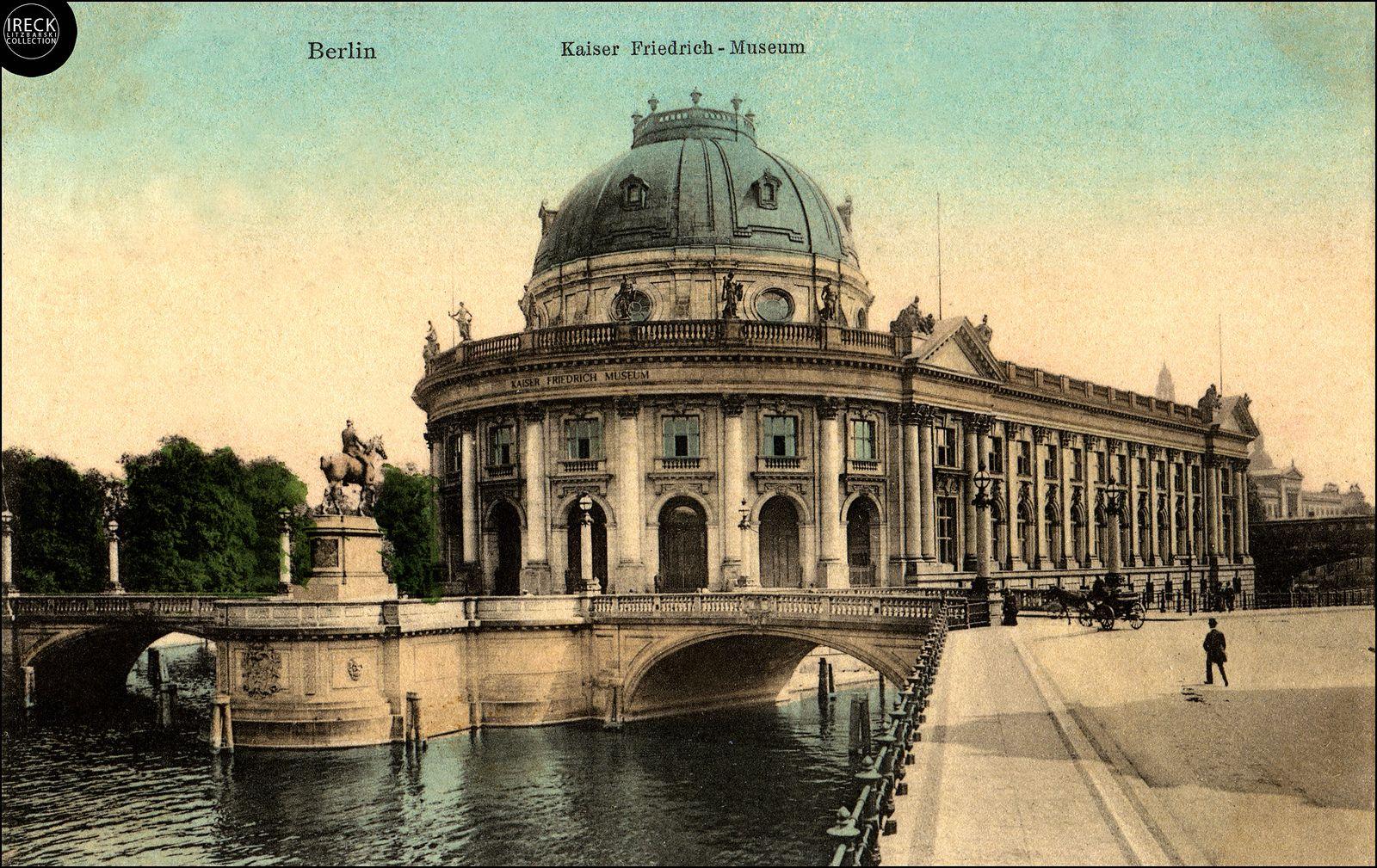 Kaiser Friedrich Museum Heute Bode Museum Berlin Um 1905 Berlin Museum Photo