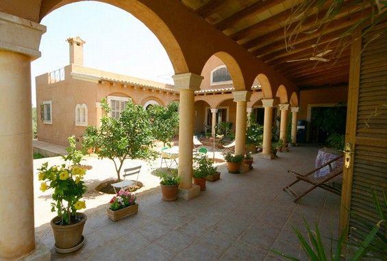 Casa r stica tipo hacienda en santany casas rurales - Interiores de casas rusticas ...