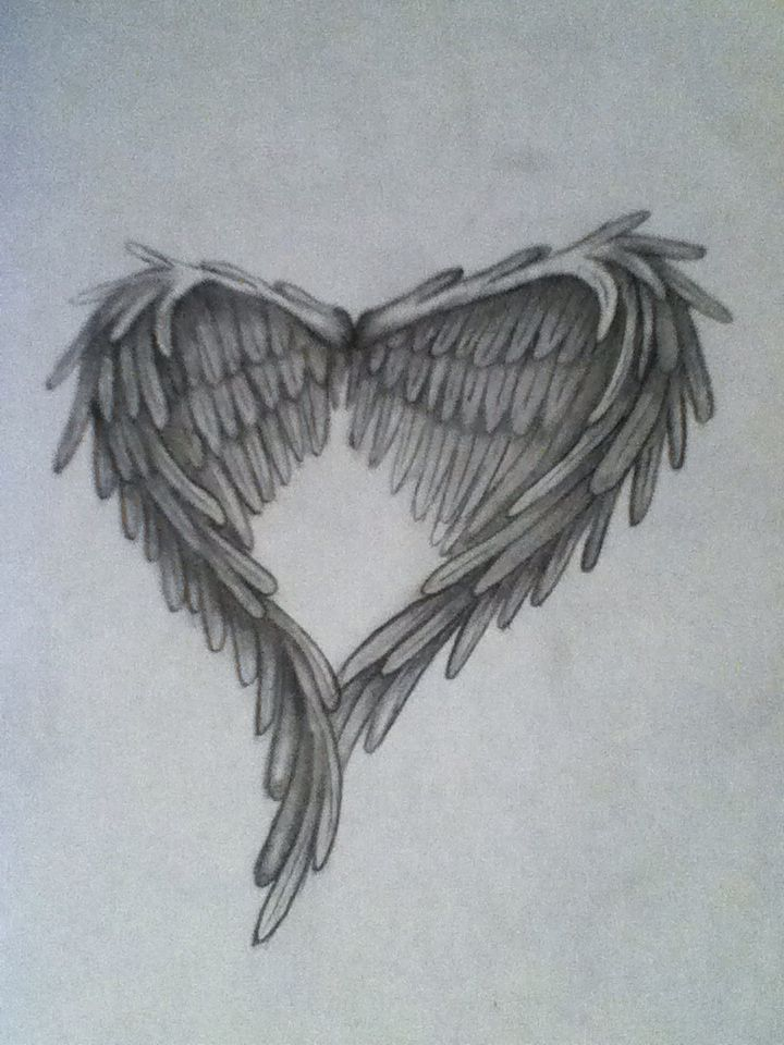 Wings Of Embrace Art Relationship Tattoos Angel
