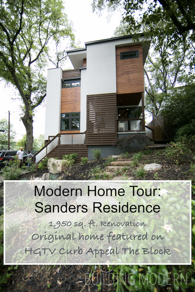 22 Modern Residences With Classy Exterior Designs: Modern Atlanta Home Tour 2014: Sanders Residence (With Images)