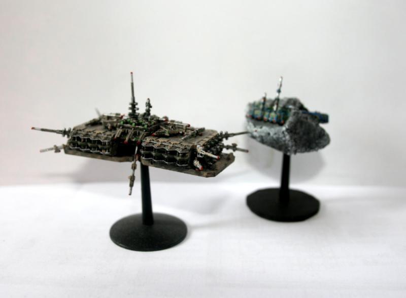 Battlefleet Gothic Imperial Navy Space Station Con Imagenes