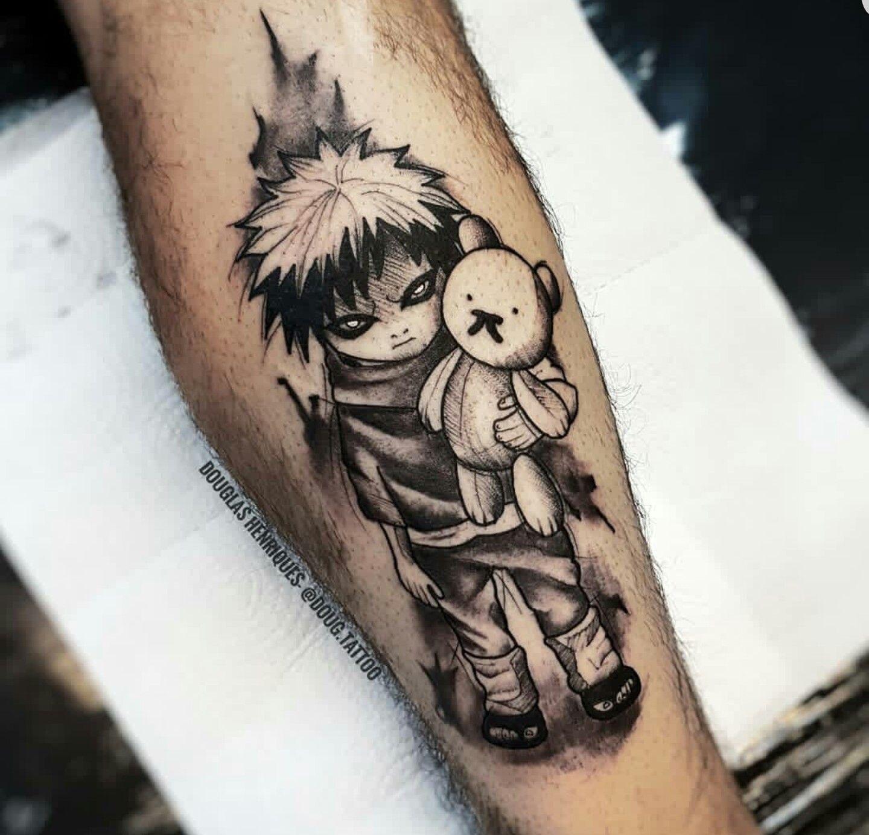 Pin By Jalen On Tattoos Gaara Tattoo Naruto Tattoo Manga Tattoo