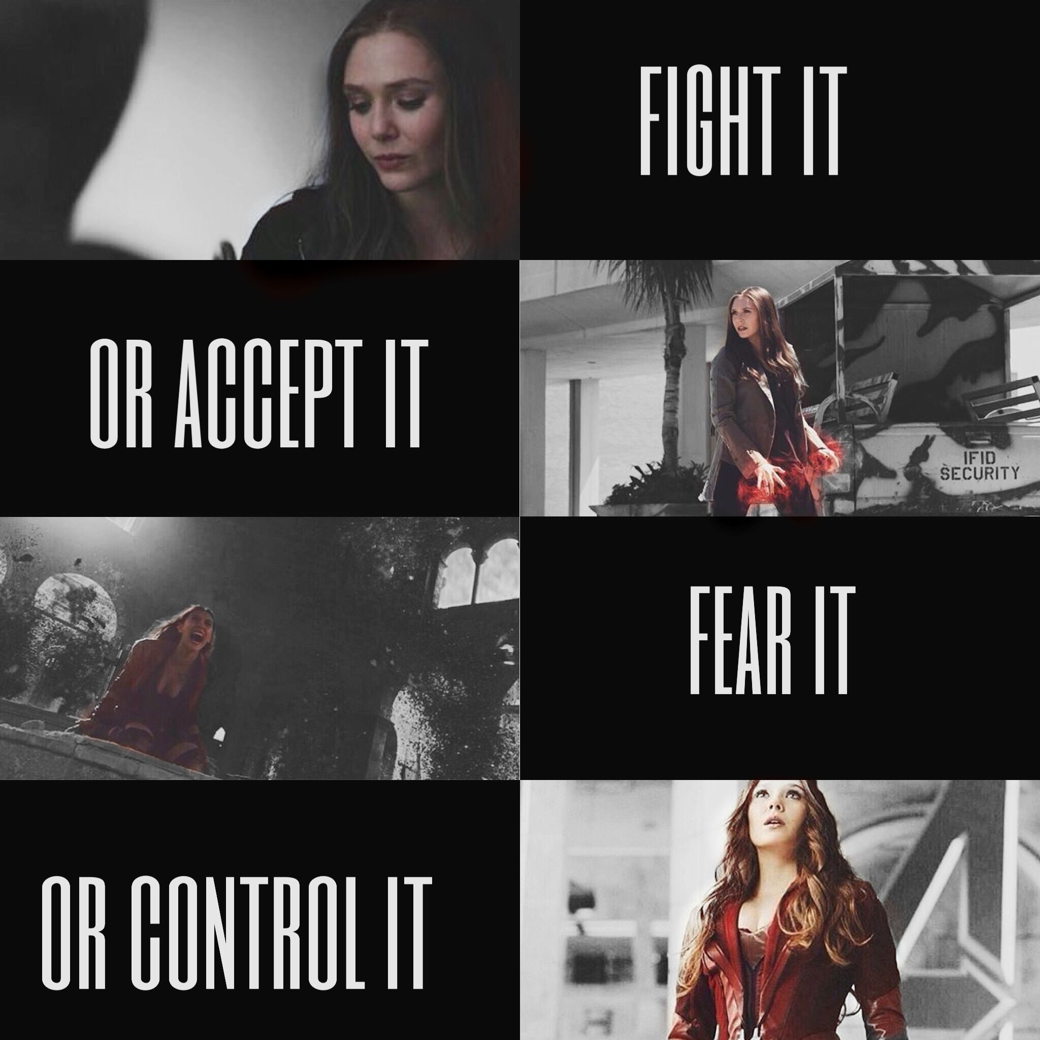 fight it or accept it fear it or control it Képek