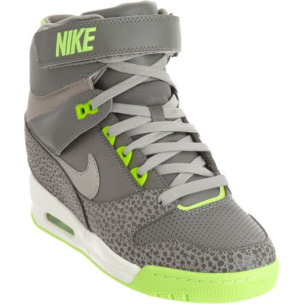 check out dcd4e a5854 Nike Air Revolution Sky Hi ( 150) found on Polyvore