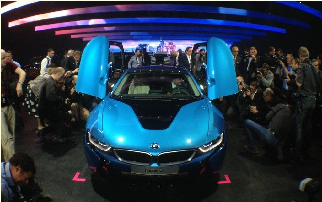 The Bmw I8 Concept Was Unveiled At The International Exhibition