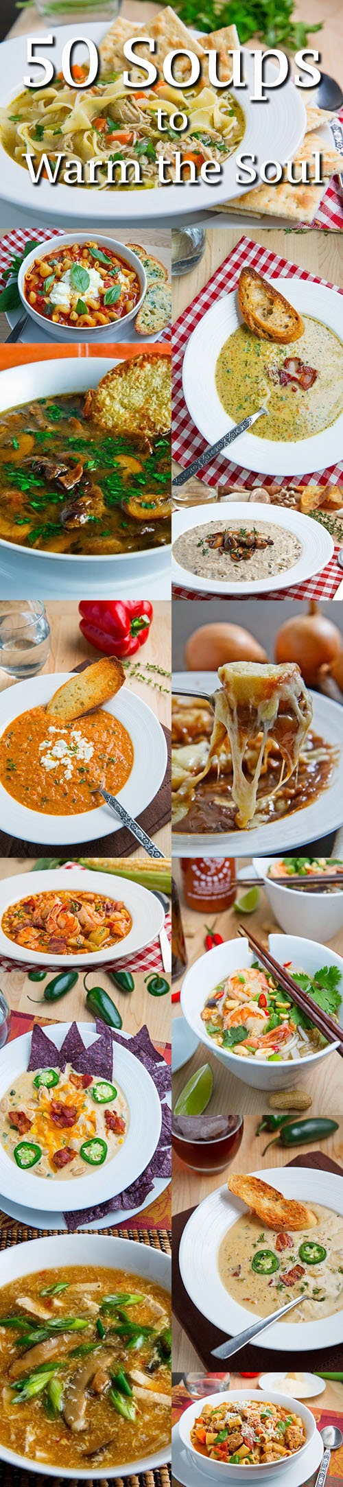 60 Soups to Warm the Soul  Recetas para cocinar