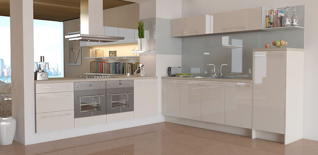 Pacrylic Champagne Quartz Gloss For The Kitchen Kitchen Cream