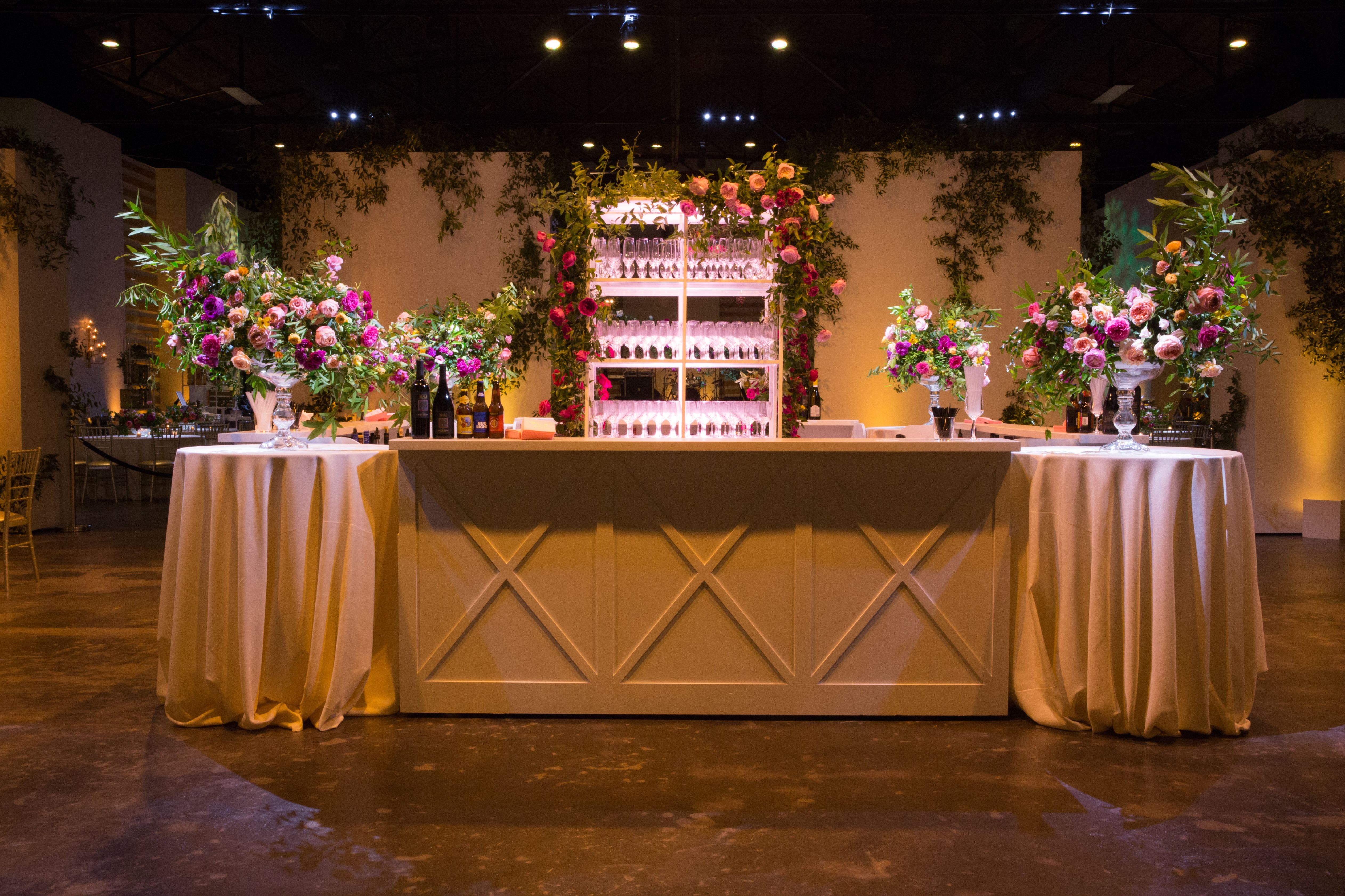 wedding bar setup romantic book shelf bar shelf bar back shelf ...