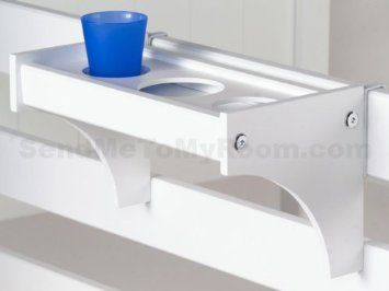 Kids Bedside Drink Tray W Cup Holders Cool Idea For The Top Bunk