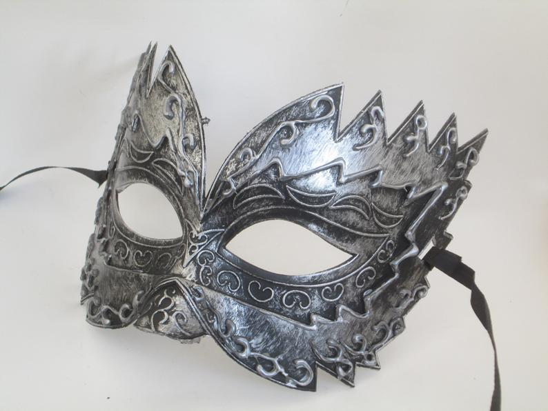 Masquerade Birthday Bachelor Carnival Steampunk Costume Prom Party Spike Mask