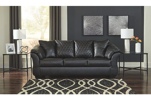 Best Betrillo Full Sofa Sleeper Large Sleeper Sofa Sofa Black Sofa 640 x 480