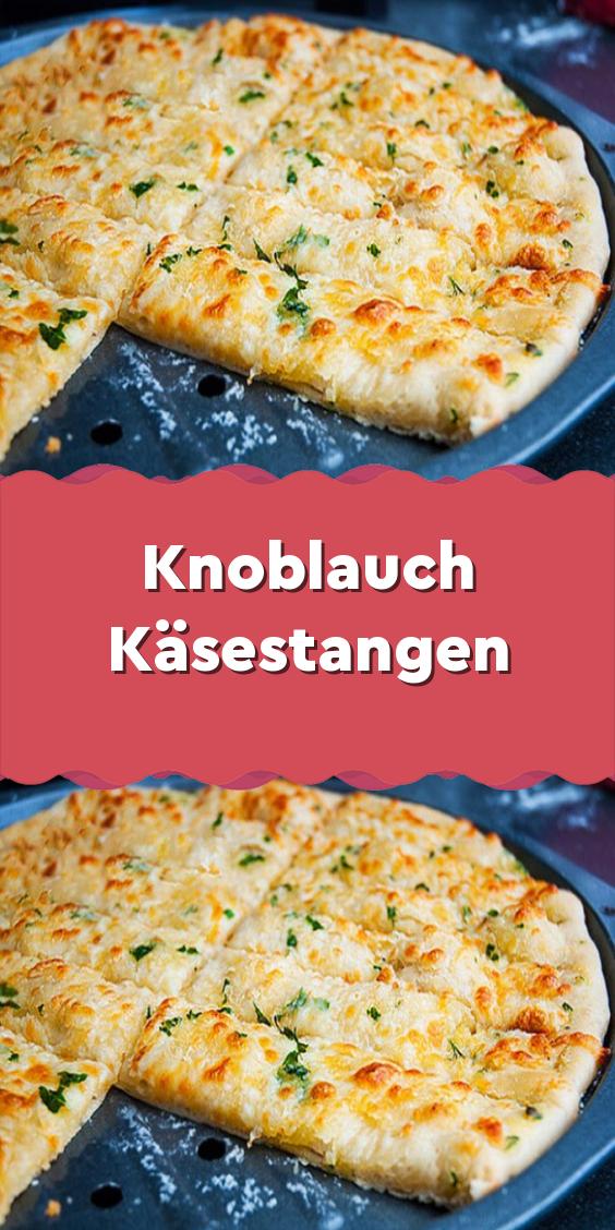 Knoblauch Käsestangen #fingerfoodrezepteschnelleinfach