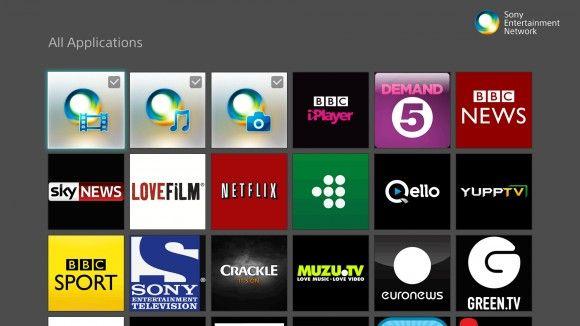 6 Best Smart Tvs In The World 2013 Sony Entertainment Network Sen Smart Tv Tv Services Smart