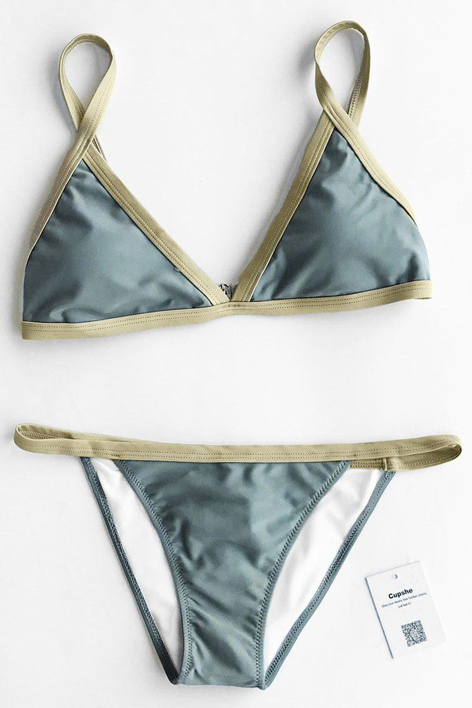 You'll fall in love with our Cupshe You Are My Sugar #Bikini #Set. Product  Code: CYY803 Details: With padding bra Adjustable shoulder straps Back hook  ...
