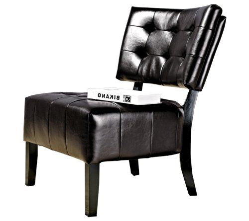 Abbyson Living Bentley Bonded Leather Armless Chair - The price dropped 17%
