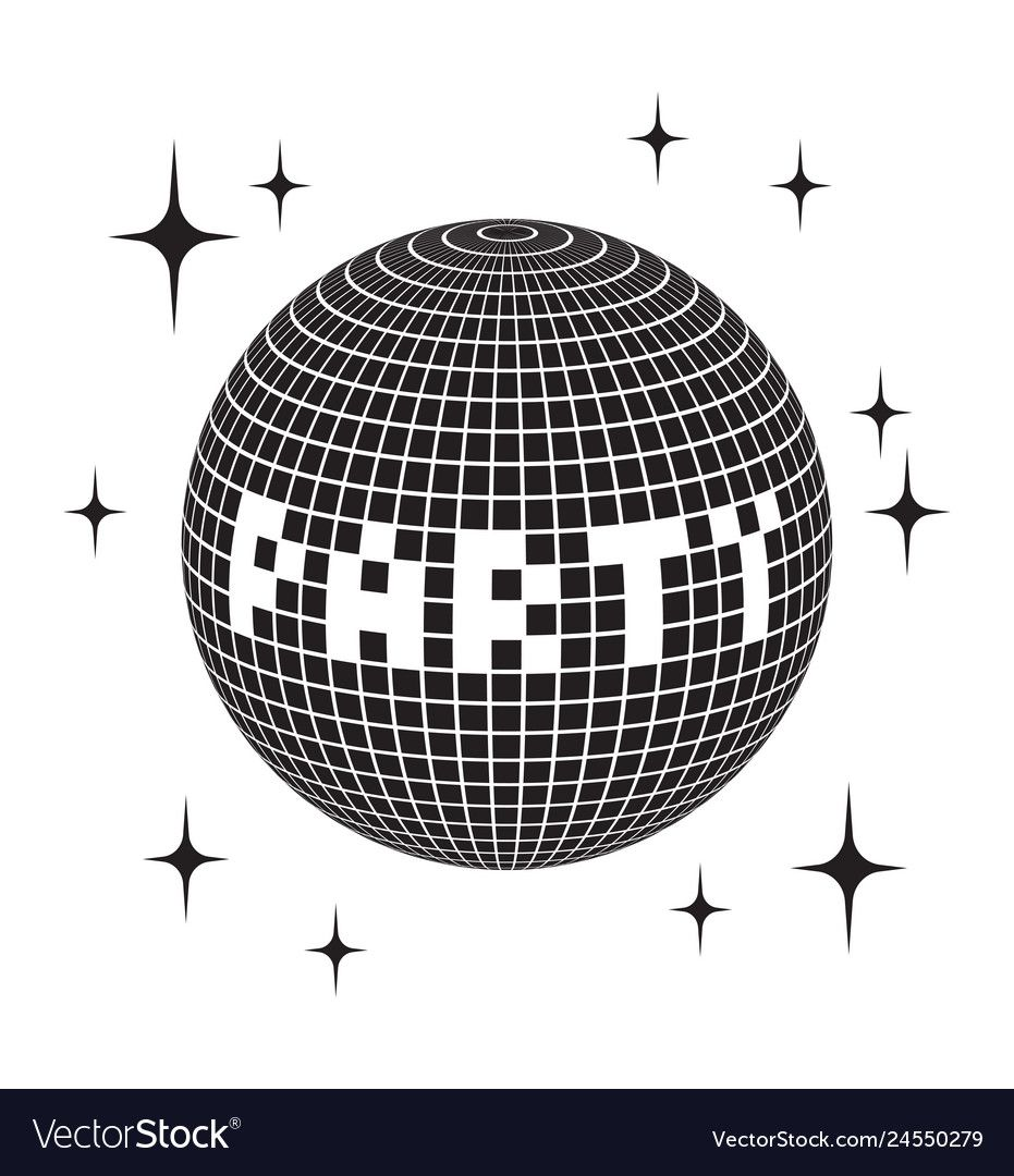 Disco Ball Vector Icon Disco Ball Vector Icon Download A Free Preview Or High Quality Adobe Illustrator Ai Eps Pdf And High Resolution Disco Ball Disco Ball