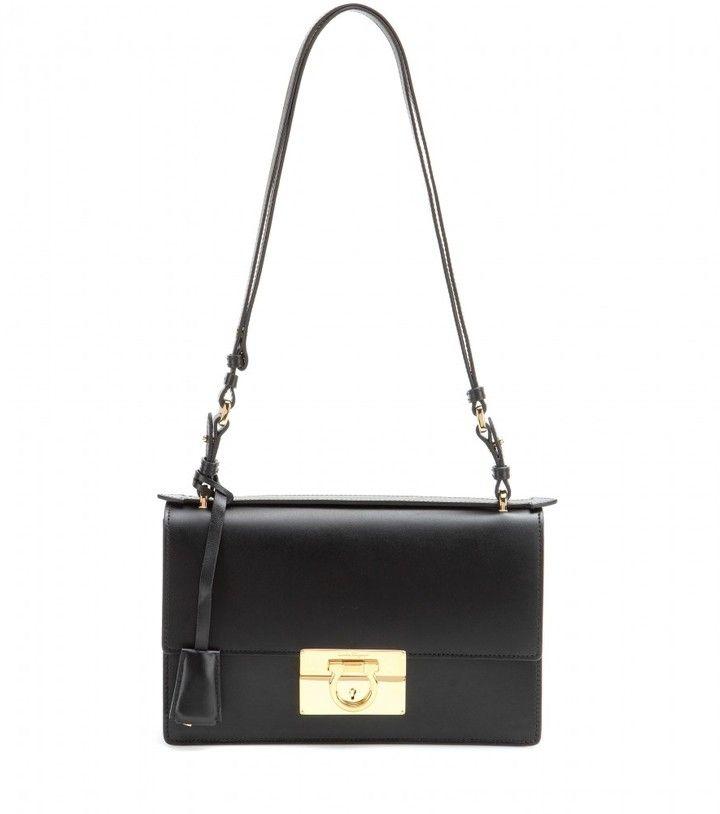 104be3e568 Salvatore Ferragamo Aileen Medium leather shoulder bag