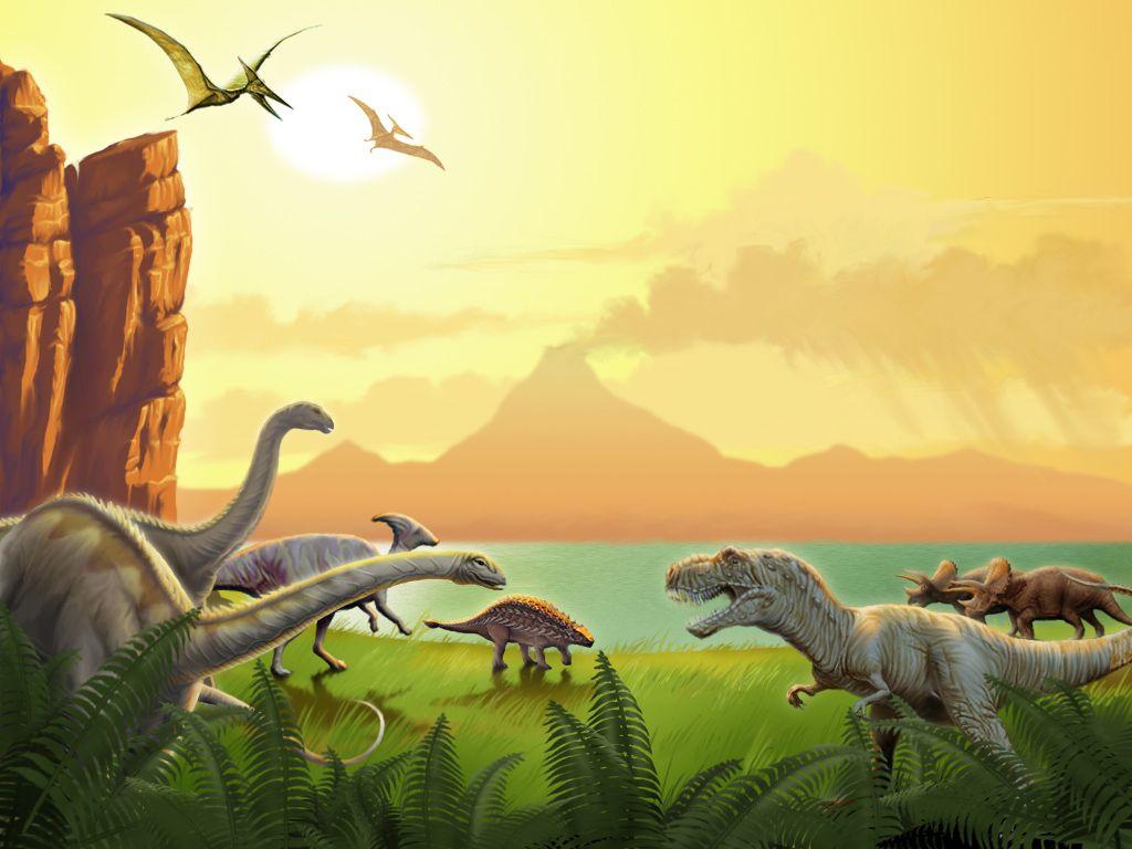 DinosaursWallpaper2.jpg (1024×768) KID's Room