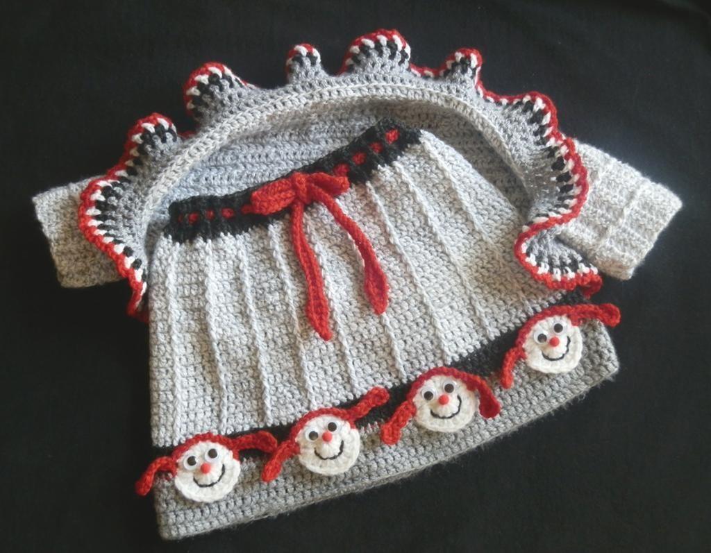 Girls Crochet Skirt Set Crochet Shrug Pattern Baby Girl Crochet