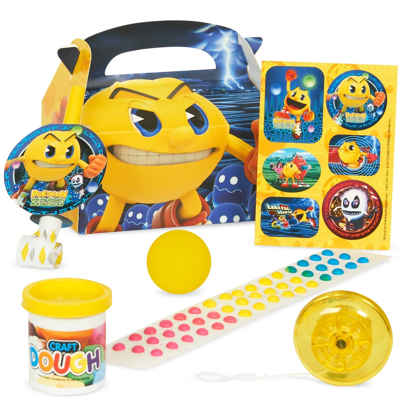 PAC MAN and the Ghostly Adventures Filled Party Favor Box