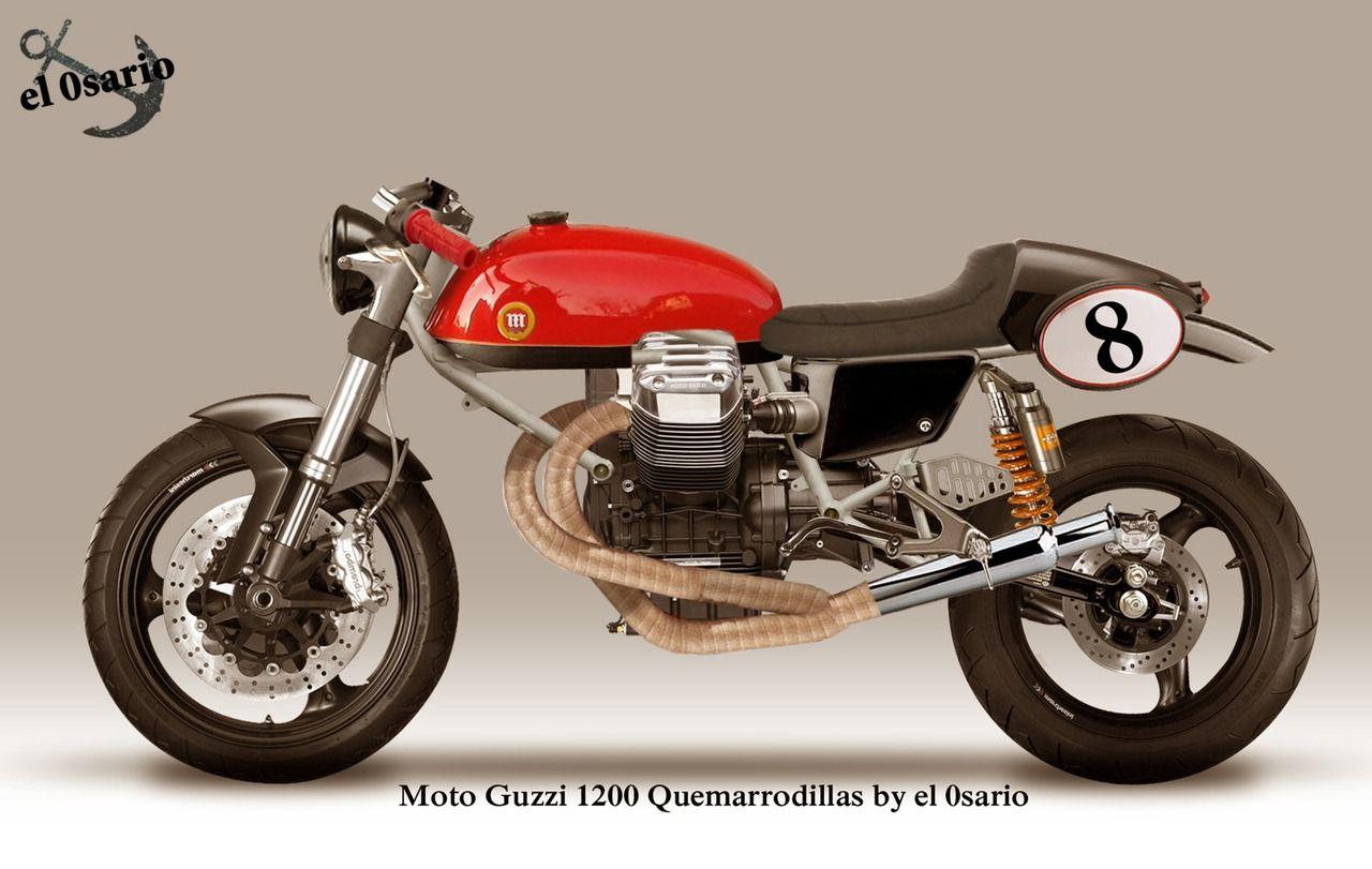 Moto Guzzi 1400 Quemarrodillas