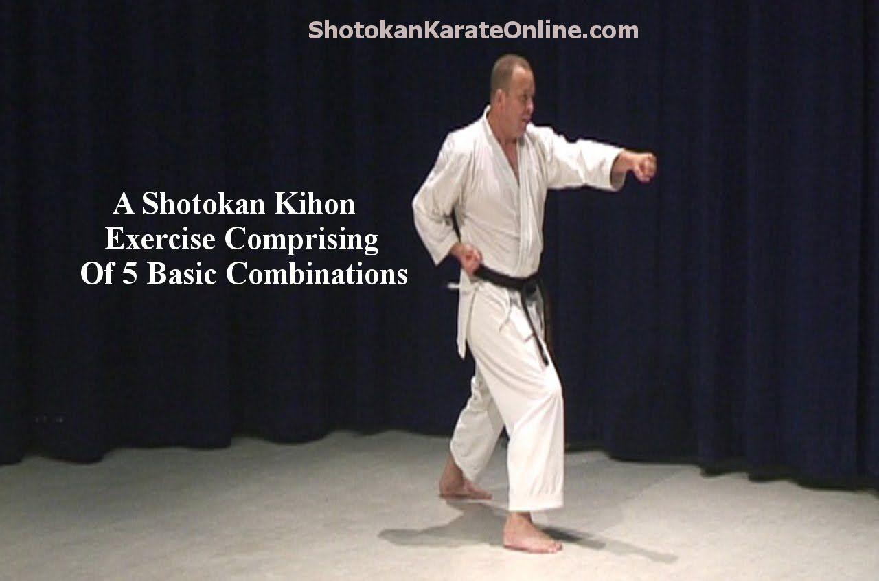 Shotokan Karate Video Kihon Spinning Combination Karate