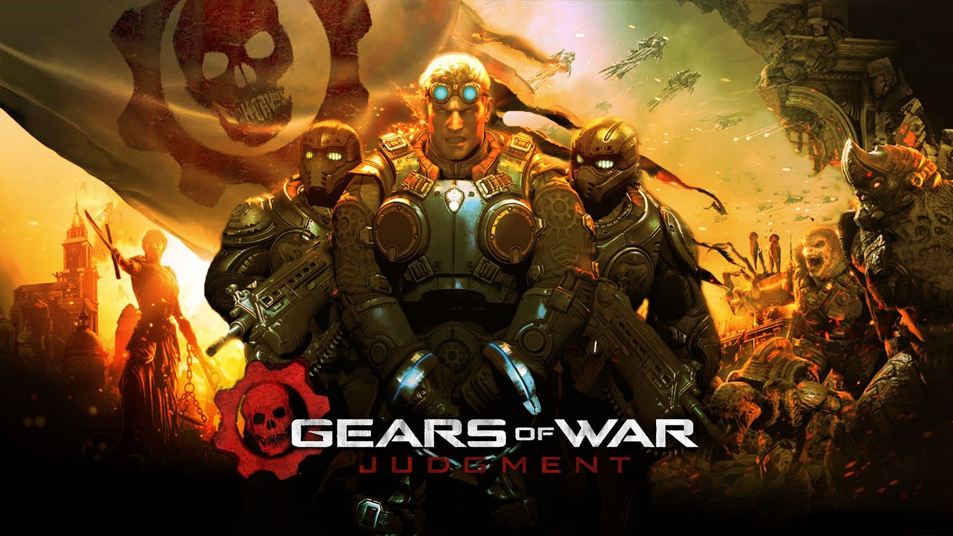 Video Games Gears Of War 1920x1080 Games Gears War Via Www Allwallpaper In With Images Gears Of War Gears Of War Judgment Gears Of War 2