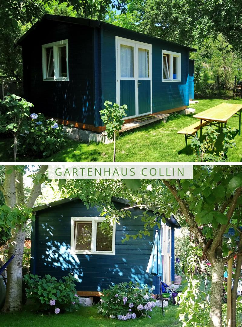 Geliebte Gartenhaus Modell Collin ISO Premium | Farbgestaltung für das #YJ_87