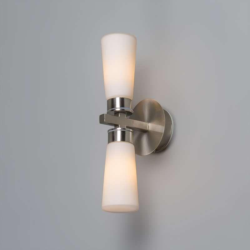 Aplique para cuarto de baño SIMAS 2 acero (con imágenes ...