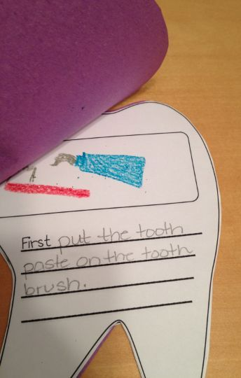 The Lesson Plan Diva Dental Health Crafts! Could link this to VA - health lesson plan