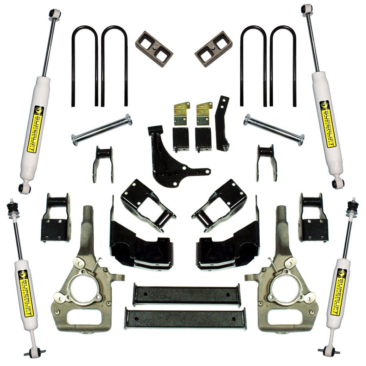 4 Ford Suspension Lift Kit 2000 2010 Ranger 4wd K358 Lifted Superlift